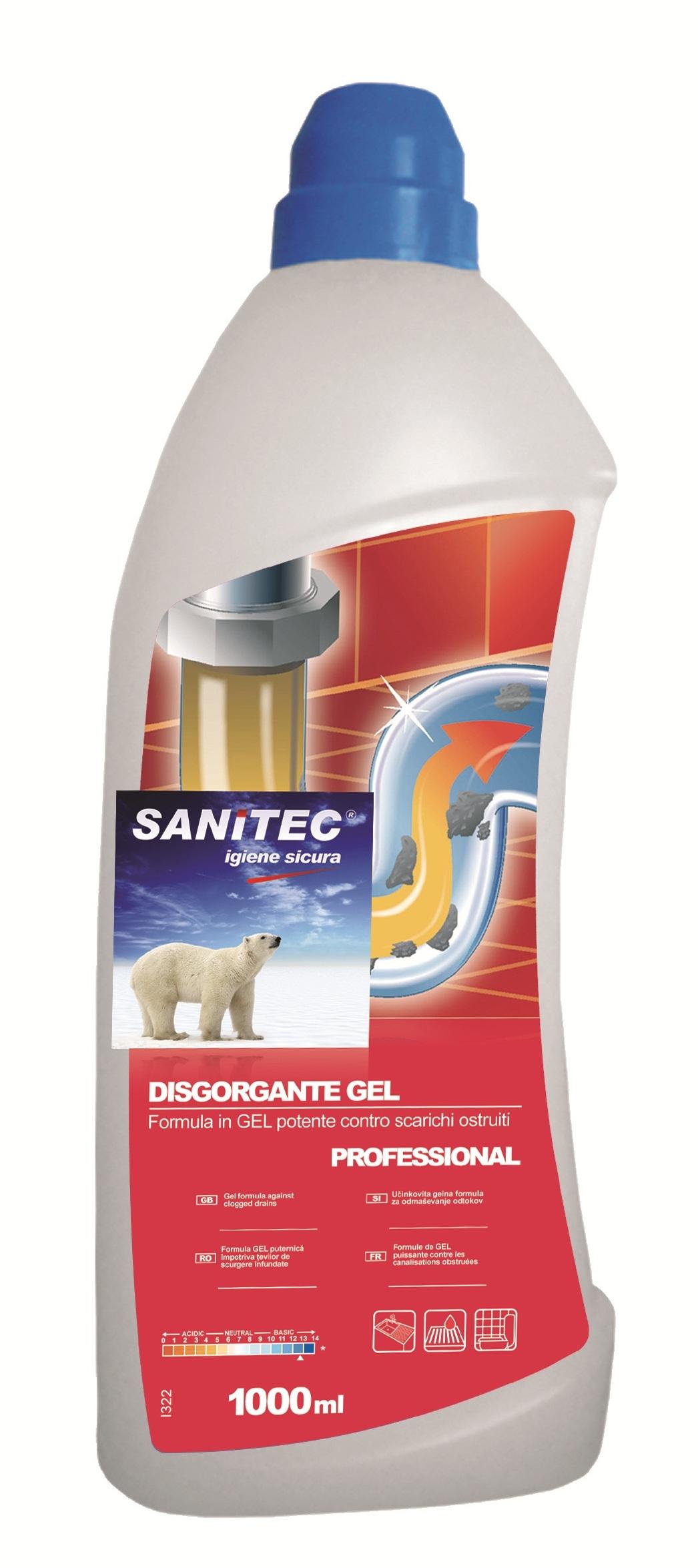 Sanitec Disgorgante Gel 1L Image