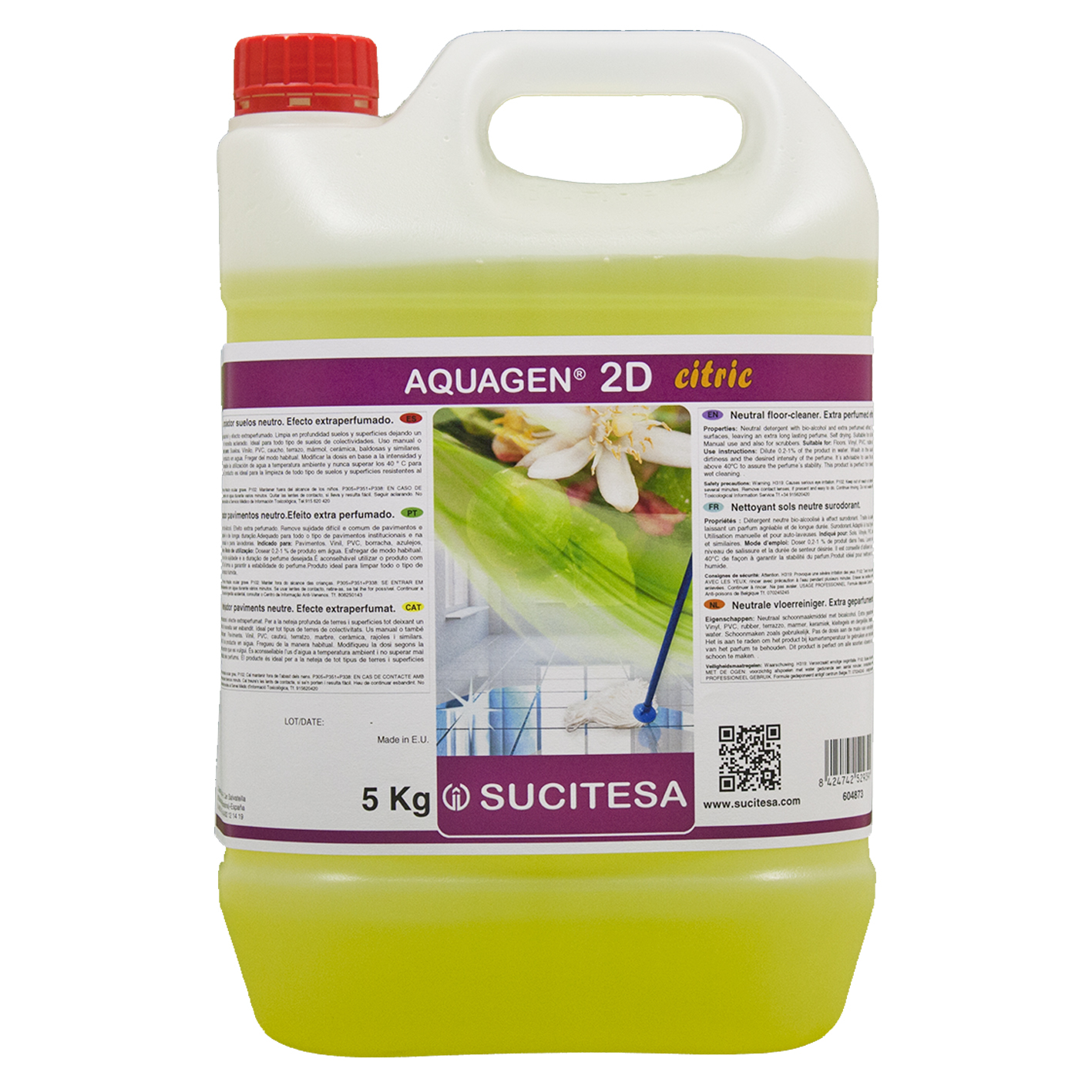 AQUAGEN 2D CITRIC 5l Image